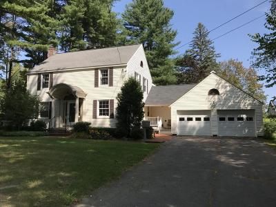 Berkshire County Single Family Home For Sale: 160 Castle Hill Ave