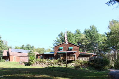 Lanesboro MA Single Family Home For Sale: $299,900