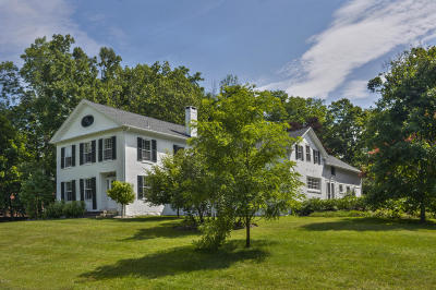 Stockbridge MA Single Family Home For Sale: $995,000