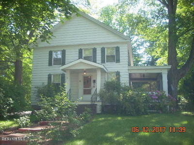 Pittsfield MA Single Family Home For Sale: $179,900