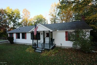 Great Barrington MA Single Family Home For Sale: $369,000