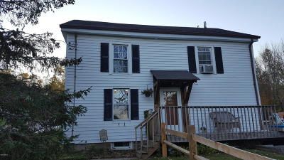Hinsdale MA Single Family Home For Sale: $165,000