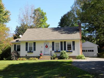 Dalton MA Single Family Home For Sale: $195,000