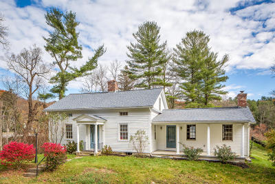 Alford, Becket, Egremont, Great Barrington, Lee, Lenox, Monterey, Mt Washington, New Marlborough, Otis, Sandisfield, Sheffield, South Lee, Stockbridge, Tyringham, West Stockbridge Single Family Home For Sale: 96 Clayton Mill River Rd