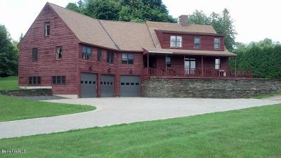 Cheshire, Dalton, Hancock, Hinsdale, Lanesboro, Peru, Pittsfield, Richmond, Windsor Single Family Home For Sale: 11 Swamp Rd