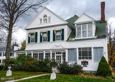 Alford, Becket, Egremont, Great Barrington, Lee, Lenox, Monterey, Mt Washington, New Marlborough, Otis, Sandisfield, Sheffield, South Lee, Stockbridge, Tyringham, West Stockbridge Single Family Home For Sale: 17 Main St
