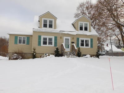 North Adams Single Family Home For Sale: 96 Hawthorne Ave