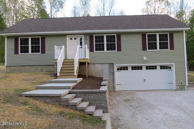 Adams, Clarksburg, Florida, New Ashford, North Adams, Savoy, Williamstown Single Family Home For Sale: 33 Orchard Ter