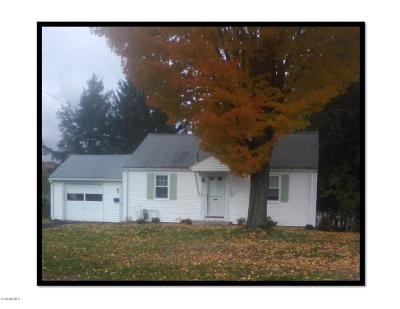 Pittsfield MA Single Family Home For Sale: $134,900