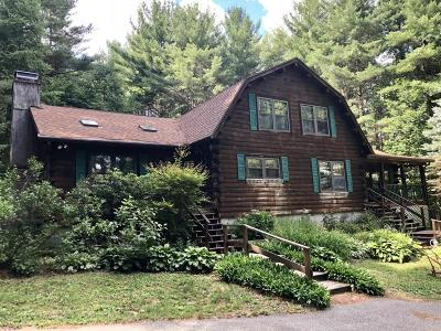Alford, Becket, Egremont, Great Barrington, Lee, Lenox, Monterey, Mt Washington, New Marlborough, Otis, Sandisfield, Sheffield, South Lee, Stockbridge, Tyringham, West Stockbridge Single Family Home For Sale: 400 South Undermountain Rd