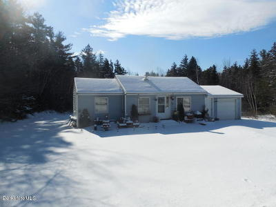 Adams, Clarksburg, Florida, New Ashford, North Adams, Savoy, Williamstown Single Family Home For Sale: 60 Mohawk Trail