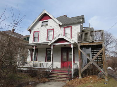Adams, Clarksburg, Florida, New Ashford, North Adams, Savoy, Williamstown Single Family Home For Sale: 25 Blackinton St