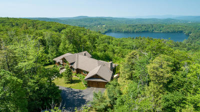 Berkshire County Single Family Home For Sale: 50 Mt Hunger Estates --