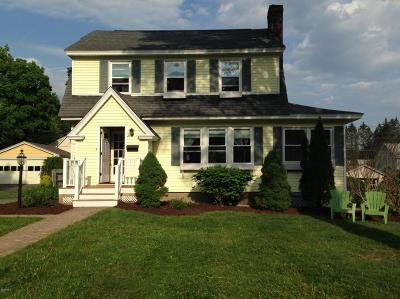 Pittsfield MA Single Family Home For Sale: $209,900