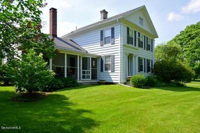 Richmond MA Single Family Home For Sale: $579,000