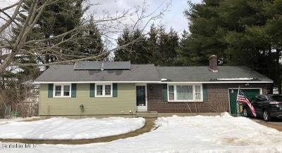 Pittsfield MA Single Family Home For Sale: $199,900
