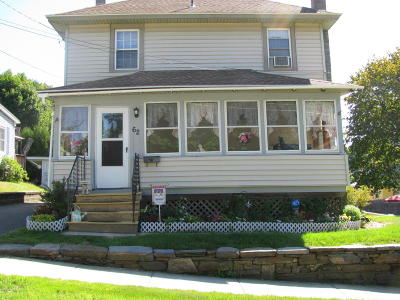 Pittsfield MA Single Family Home For Sale: $169,900