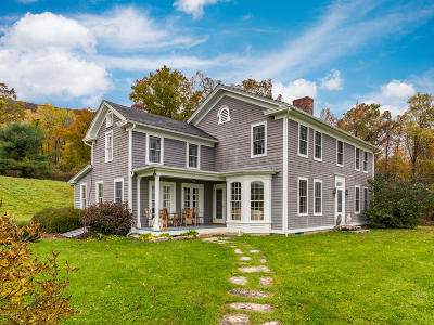 Berkshire County Single Family Home For Sale: 1474 South Undermountain Rd
