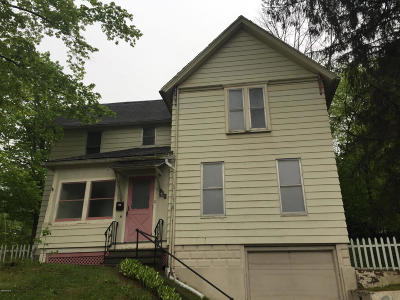 Pittsfield MA Single Family Home For Sale: $99,900