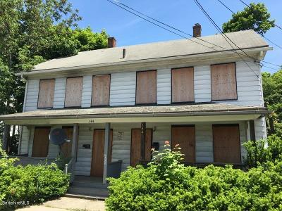 Pittsfield Multi Family Home For Sale: 242 Wahconah St