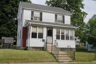 Pittsfield MA Single Family Home For Sale: $89,900