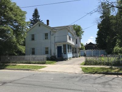 Pittsfield MA Multi Family Home For Sale: $129,900