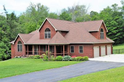 Lanesboro Single Family Home For Sale: 120 Bull Hill Rd