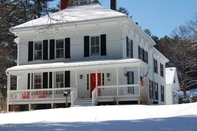 Great Barrington Single Family Home For Sale: 94 West Ave