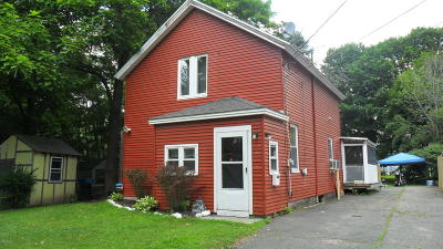 Pittsfield MA Single Family Home For Sale: $130,000