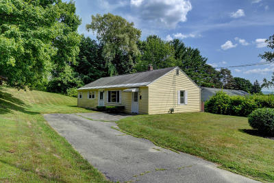 Pittsfield MA Single Family Home For Sale: $137,500