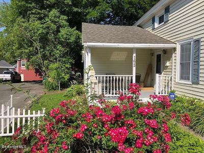 Lee Single Family Home For Sale: 165 Main St