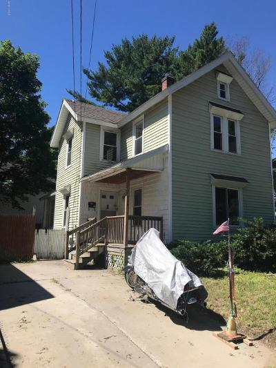 Pittsfield MA Single Family Home For Sale: $84,900
