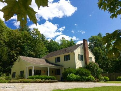 Cheshire, Dalton, Hancock, Hinsdale, Lanesboro, Peru, Pittsfield, Richmond, Windsor Single Family Home For Sale: 2345 Swamp Rd