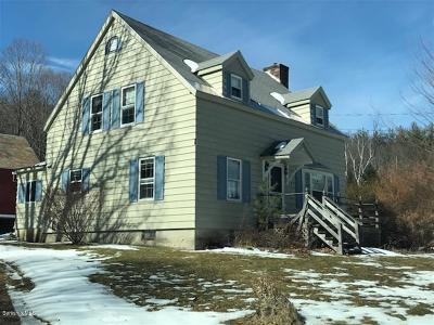 Adams, Clarksburg, Florida, New Ashford, North Adams, Savoy, Williamstown Single Family Home For Sale: 353 W Rd