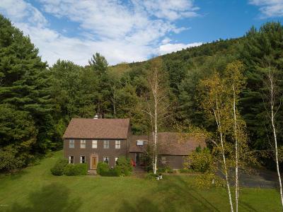 Cheshire, Dalton, Hancock, Hinsdale, Lanesboro, Peru, Pittsfield, Richmond, Windsor Single Family Home For Sale: 280 Osceola Notch Rd