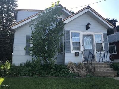 Pittsfield MA Single Family Home For Sale: $64,900