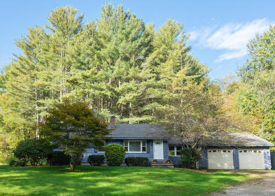 Berkshire County Single Family Home For Sale: 129 Hayes Hill Rd