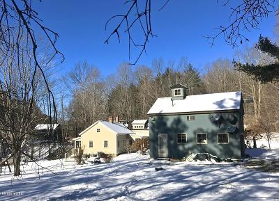 Berkshire County Single Family Home For Sale: 163A Hillsdale Rd