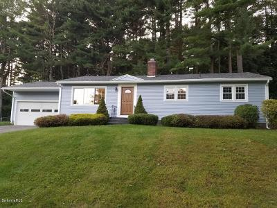 Pittsfield MA Single Family Home For Sale: $215,000