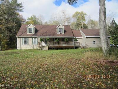 Pittsfield MA Single Family Home For Sale: $379,900