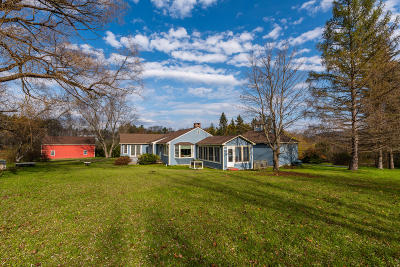 Cheshire, Dalton, Hancock, Hinsdale, Lanesboro, Peru, Pittsfield, Richmond, Windsor Single Family Home For Sale: 1580 State Rd