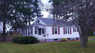 Pittsfield MA Single Family Home For Sale: $149,900