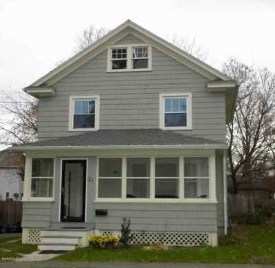 Pittsfield MA Single Family Home For Sale: $184,900
