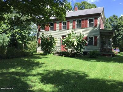 Berkshire County Single Family Home For Sale: 2318 Canaan Southfield Rd