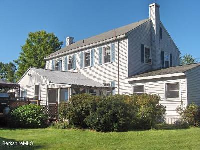 Pittsfield Single Family Home For Sale: 7 Central Berkshire Blvd