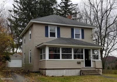 Pittsfield MA Single Family Home For Sale: $73,000