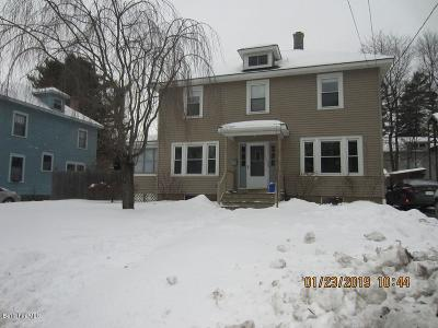 Single Family Home For Sale: 65 Onota St