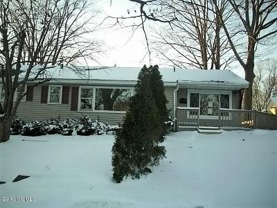 Pittsfield MA Single Family Home For Sale: $147,000