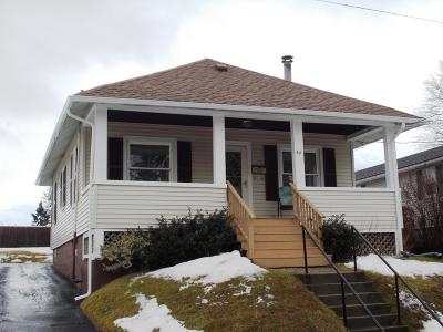 Pittsfield MA Single Family Home For Sale: $114,000