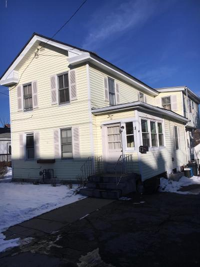 Pittsfield MA Single Family Home For Sale: $79,000